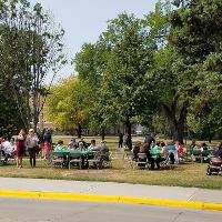 picnicers  in CEHD 2018 picnic