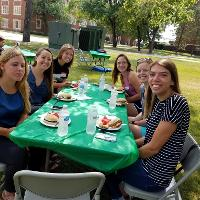students in CEHD 2018 picnic