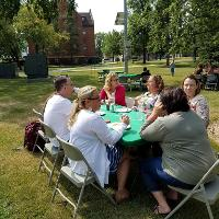 staff in CEHD 2018 picnic