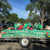 Participants in 2018 CEHD potato bowl parade